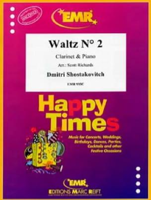 Waltz N° 2 - CHOSTAKOVITCH - Partition - Clarinette - laflutedepan.com