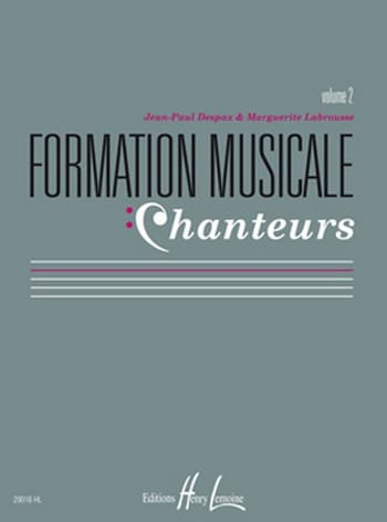 Marguerite LABROUSSE et Jean-Paul DESPAX - Musical Training Singers - Volume 2 - Partition - di-arezzo.co.uk
