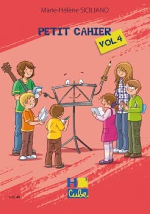 Petit Cahier de Révision Volume 4 - SICILIANO - laflutedepan.com