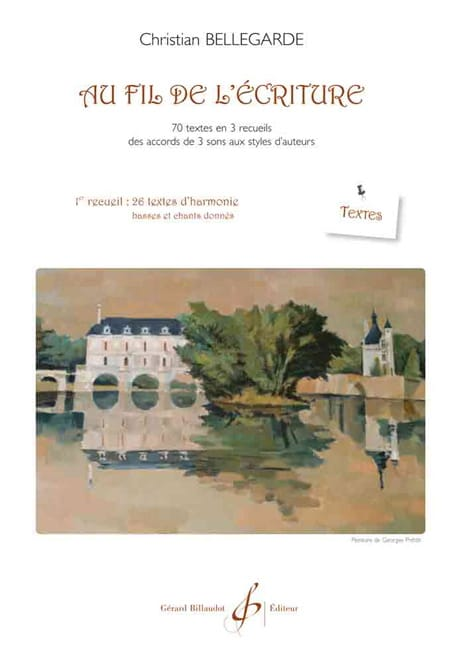 Au Fil de L'écriture - 1er Recueil - Textes - laflutedepan.com