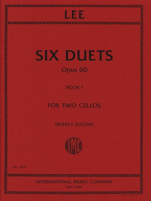 Six Duets Opus 60 - Book 1 - Sebastian Lee - laflutedepan.com