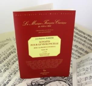 Sonates Pour le Violoncelle Livre 4 - laflutedepan.com