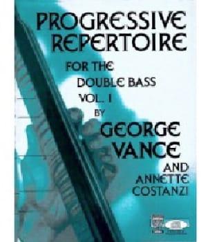 Progressive Repertoire Vol 1 For The Double Bass MP3 audio - laflutedepan.com