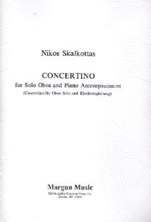 Concertino - Oboe/Piano - Nikos Skalkottas - laflutedepan.com
