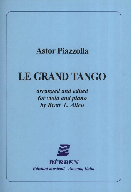 Astor Piazzolla - Le Grand Tango - Alto - Partition - di-arezzo.fr