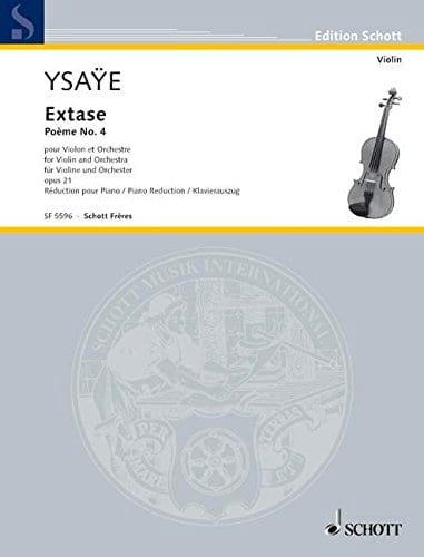 Eugène Ysaÿe - Ecstasy - Poem N ° 4 Opus 21 - Partition - di-arezzo.co.uk