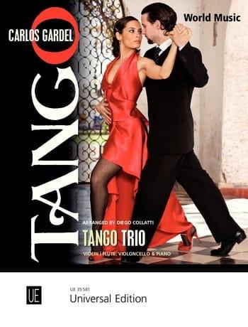 Tango Trio - Carlos Gardel - Partition - Trios - laflutedepan.com