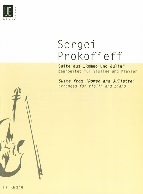 Serge Prokofiev - Suite Romeo and Juliet - Partition - di-arezzo.co.uk