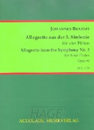 Allegretto de la 3ème symphonie - BRAHMS - laflutedepan.com