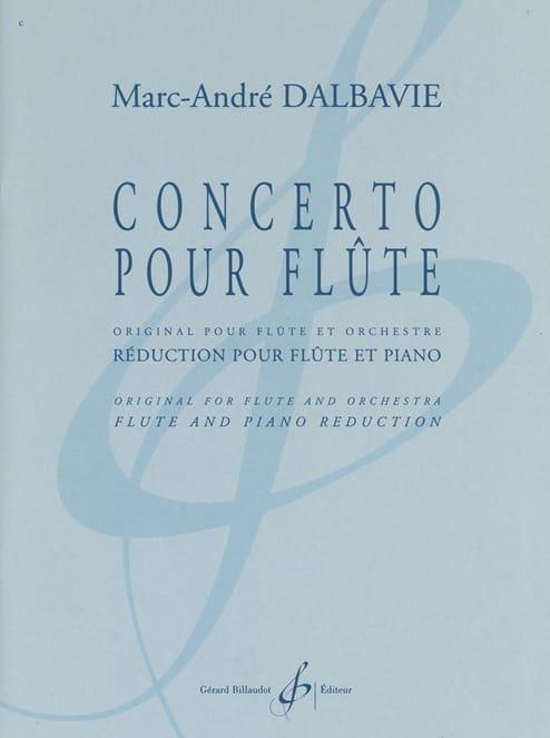 Concerto pour Flûte - Marc-André Dalbavie - laflutedepan.com