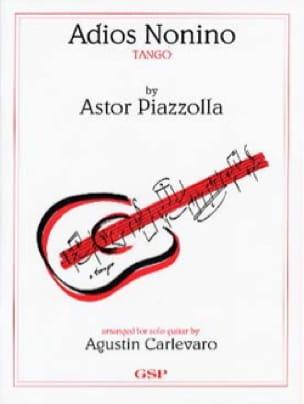 Astor Piazzolla - Adios Nonino - Partition - di-arezzo.fr