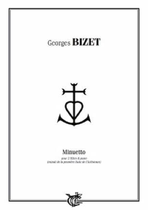 Minuetto - 2 Flûtes/Piano - BIZET - Partition - laflutedepan.com