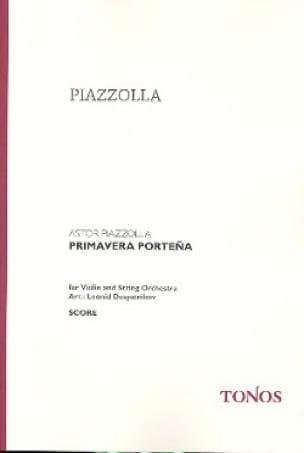 Primavera Portena - score - Astor Piazzolla - laflutedepan.com