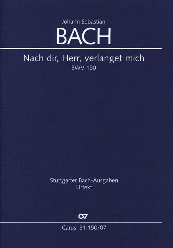 Nach Dir, Herr, Verlanget Mich - BWV 150 - BACH - laflutedepan.com