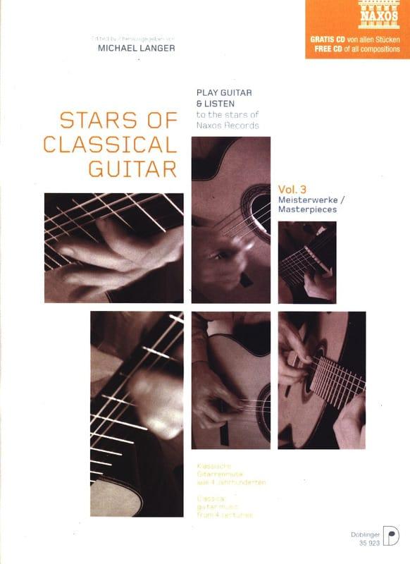 Michael Langer - Sterne der klassischen Gitarre Volume 3 - Partition - di-arezzo.de