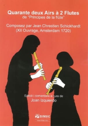 Quarante Deux Airs à 2 Flutes de Principes de la Flûte - laflutedepan.com