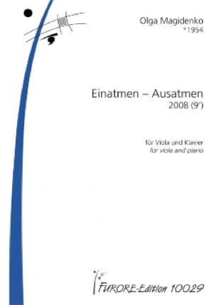 Einatmen - Ausatmen - Olga Magidenko - Partition - laflutedepan.com