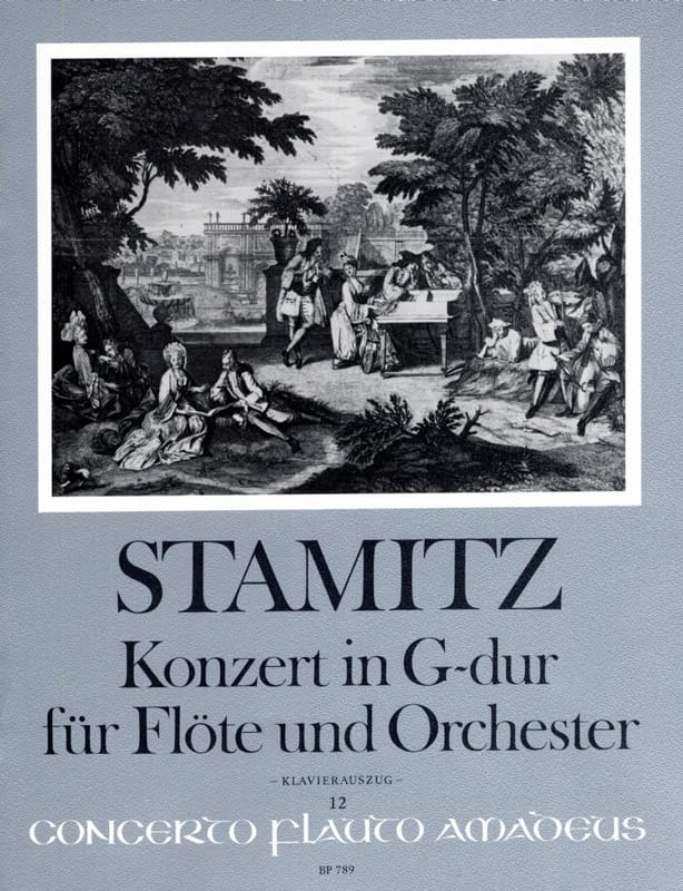 Carl Stamitz - Konzert in G-Dur for Flute and Orchester Opus 29 - Partition - di-arezzo.com