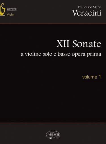 12 Sonates Pour Violon et Basse Continue - Volume 1 - laflutedepan.com