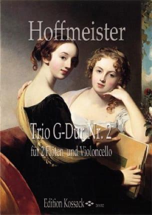 Trio n° 2 en sol majeur - HOFFMEISTER - Partition - laflutedepan.com