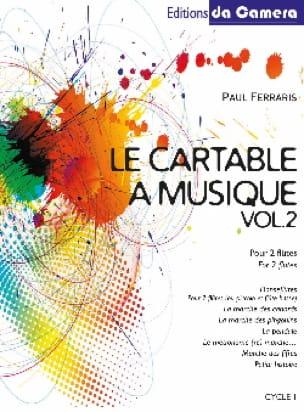 Le cartable à musique, Volume 2 - Paul Ferraris - laflutedepan.com