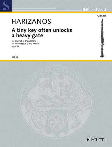 A tiny key often unlocks a heavy gate, op. 64 - laflutedepan.com