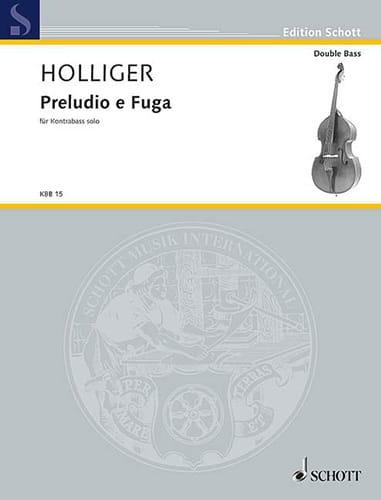 Preludio e Fuga a 4 voci - Heinz Holliger - laflutedepan.com