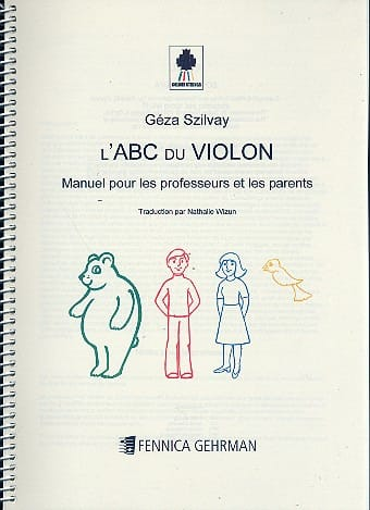 Geza Szilvay - Colourstrings the ABC of the violin Teacher and parents manual - Partition - di-arezzo.com