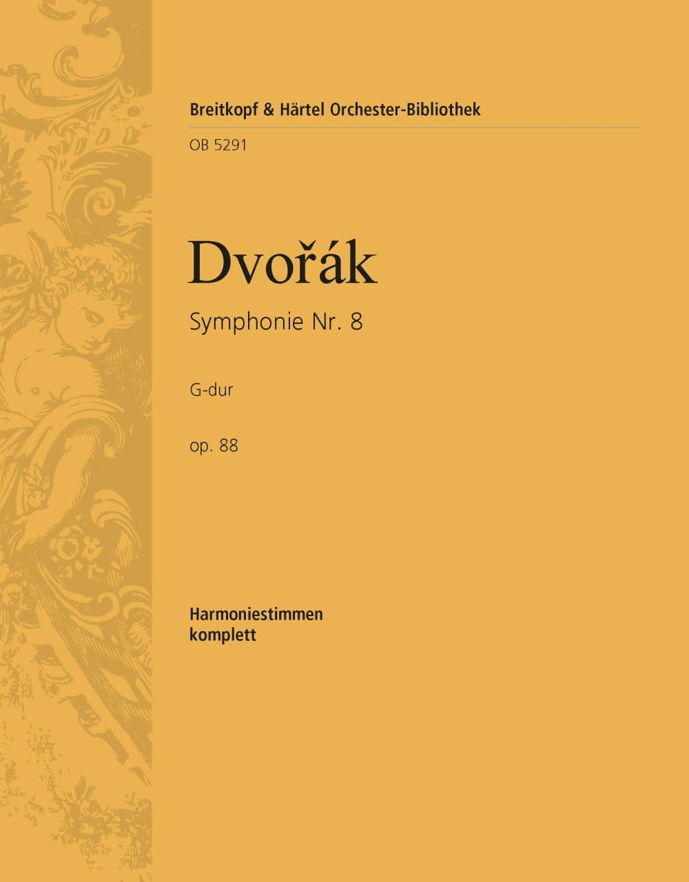 Symphonie N° 8, op. 88 - DVORAK - Partition - laflutedepan.com