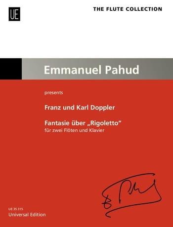 Fantaisie sur Rigoletto - Franz et Karl Doppler - laflutedepan.com