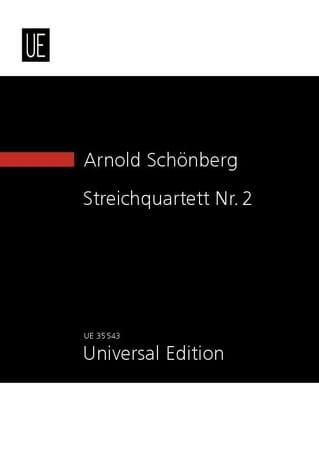 Quatuor à cordes n° 2, opus 10 - SCHOENBERG - laflutedepan.com