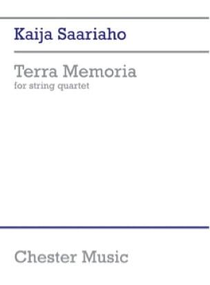 Terra Memoria - Kaija Saariaho - Partition - laflutedepan.com