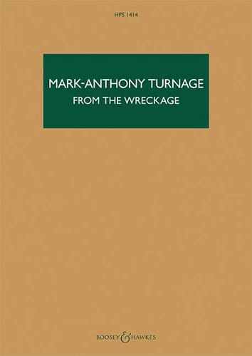 From the Wreckage - Mark-Anthony Turnage - laflutedepan.com