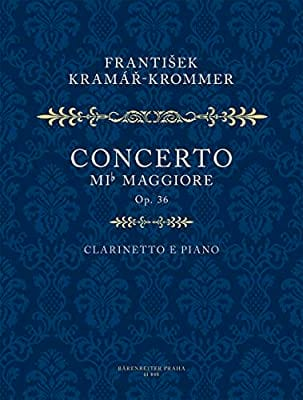 Franz Krommer - Konzert Es-Dur Op 36 - Partition - di-arezzo.co.uk