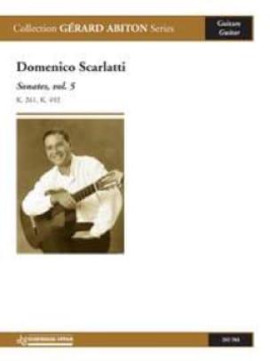 Domenico Scarlatti - Sonates, volume 5 - Partition - di-arezzo.fr