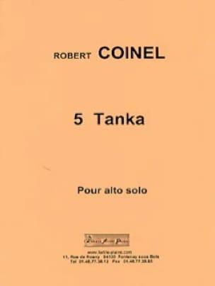 5 Tanka - Robert Coinel - Partition - Alto - laflutedepan.com