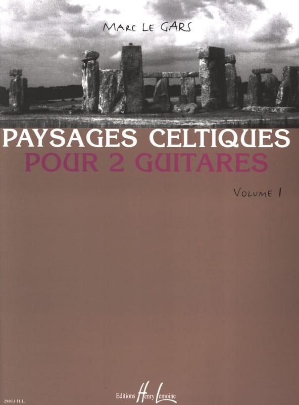 Paysages Celtiques pour 2 guitares Volume 1 - laflutedepan.com