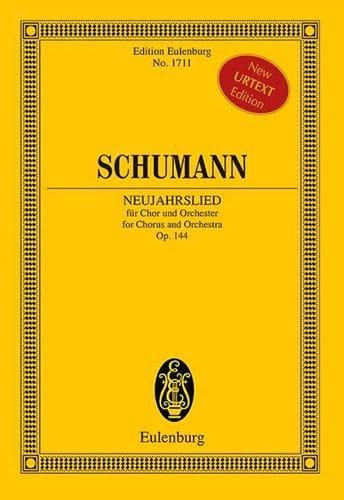 Neujahrslied, op. 144 - SCHUMANN - Partition - laflutedepan.com