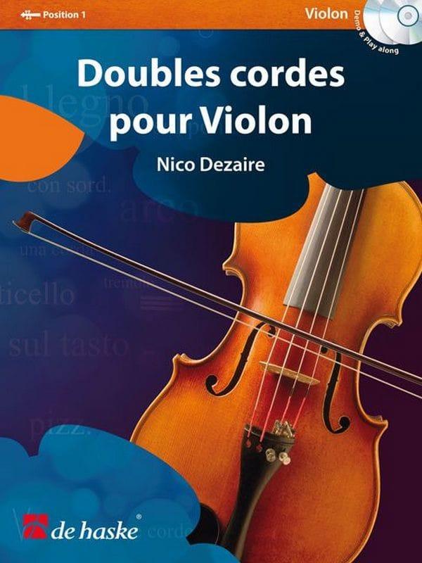 Nico Dezaire - Double strings for violin - Partition - di-arezzo.co.uk