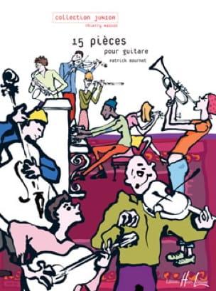 15 pièces pour guitare - Patrick Bournet - laflutedepan.com