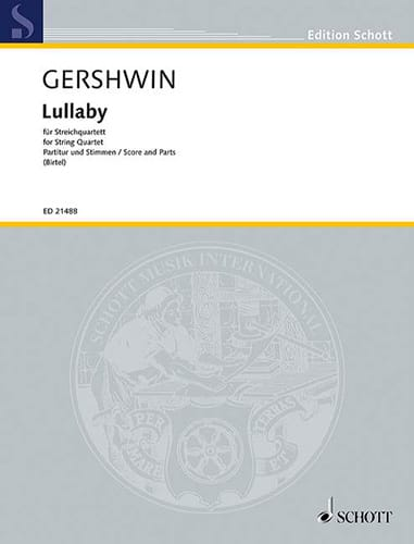 George Gershwin - Lullaby - Partition - di-arezzo.com