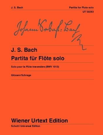 BACH - Partita for solo flute, BWV 1013 - Partition - di-arezzo.co.uk