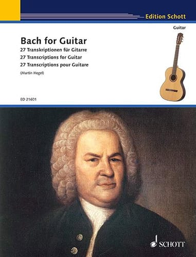 BACH - Bach for Guitar - Partition - di-arezzo.co.uk