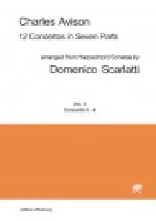 12 Concertos in Seven Parts vol 2 concertos 3 & 4 - score - laflutedepan.com