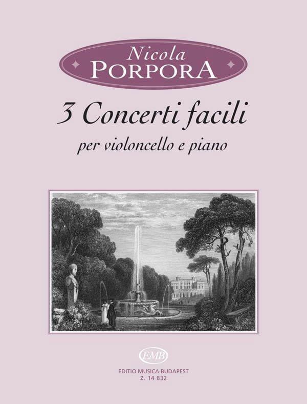3 Concerti facili - Nicola Antonio Porpora - laflutedepan.com