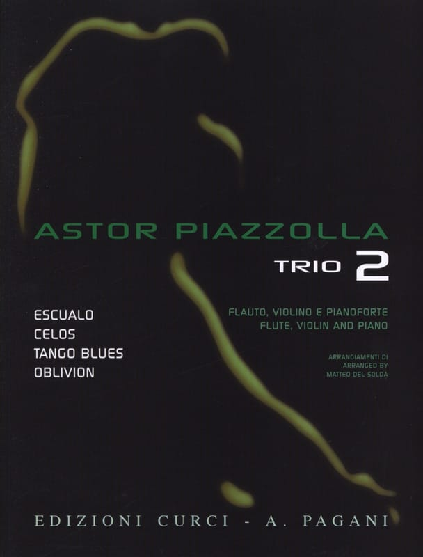 Astor Piazzolla - Astor Piazzolla for Trio Volume 2 - Partition - di-arezzo.fr
