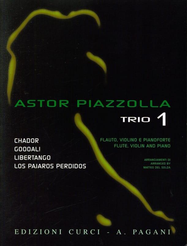 Astor Piazzolla - Astor Piazzolla for Trio Volume 1 - Partition - di-arezzo.fr