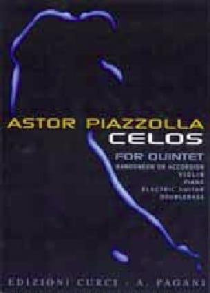 Celos - Astor Piazzolla - Partition - laflutedepan.com