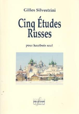 Gilles Silvestrini - 5 Russian Studies - Oboe - Partition - di-arezzo.com
