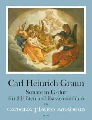 Sonate en Sol Majeur - Carl Heinrich Graun - laflutedepan.com
